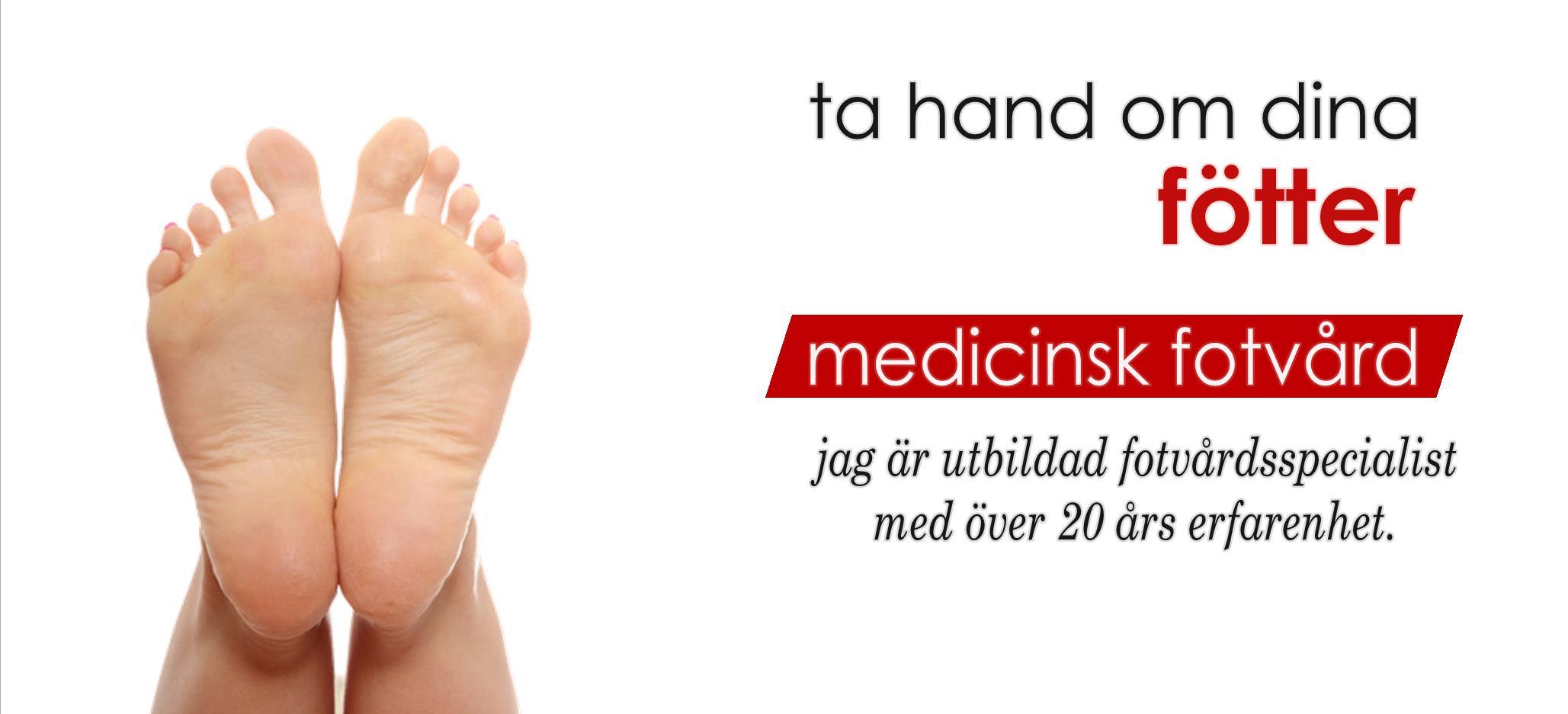 medicinsk fotvård lidköping